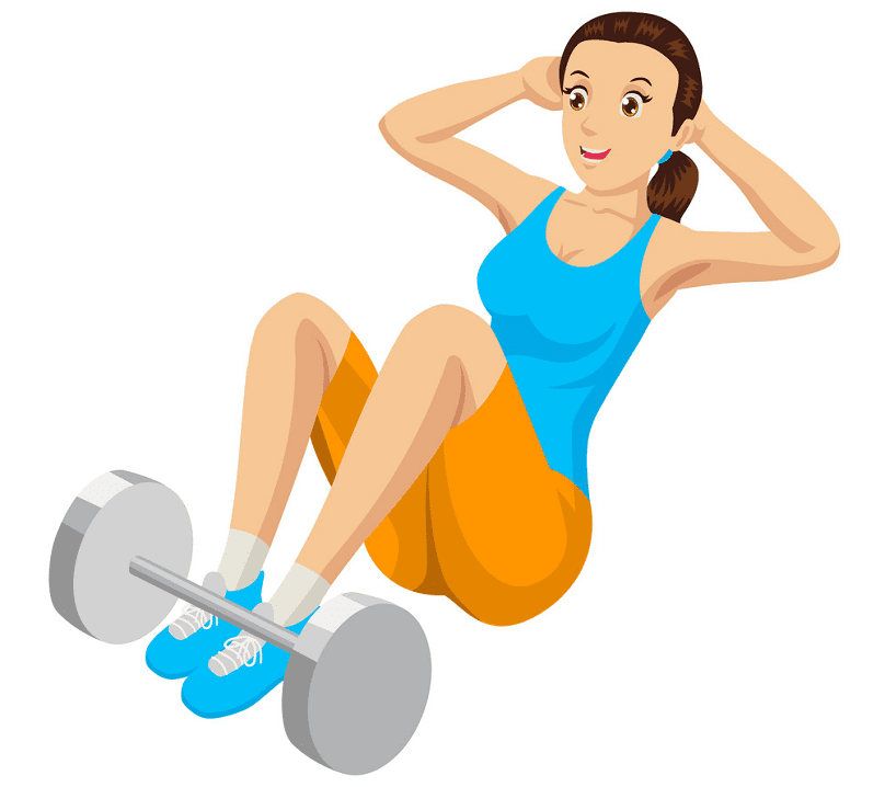 Exercise clipart free
