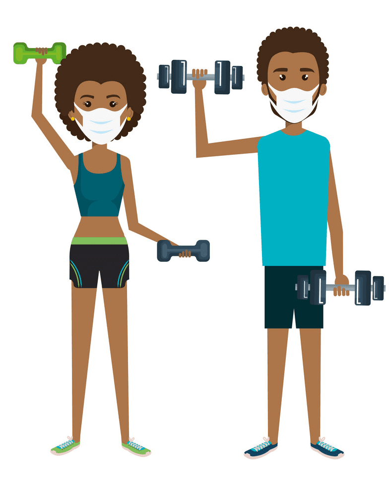 Exercise clipart png 5