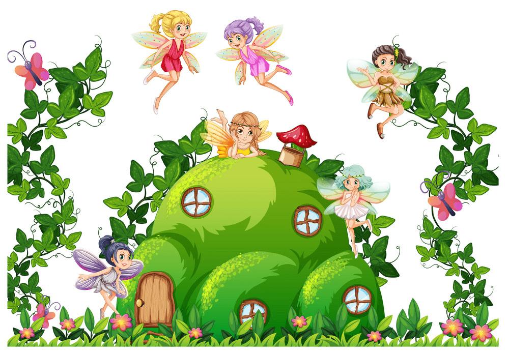 Fairy House clipart 10