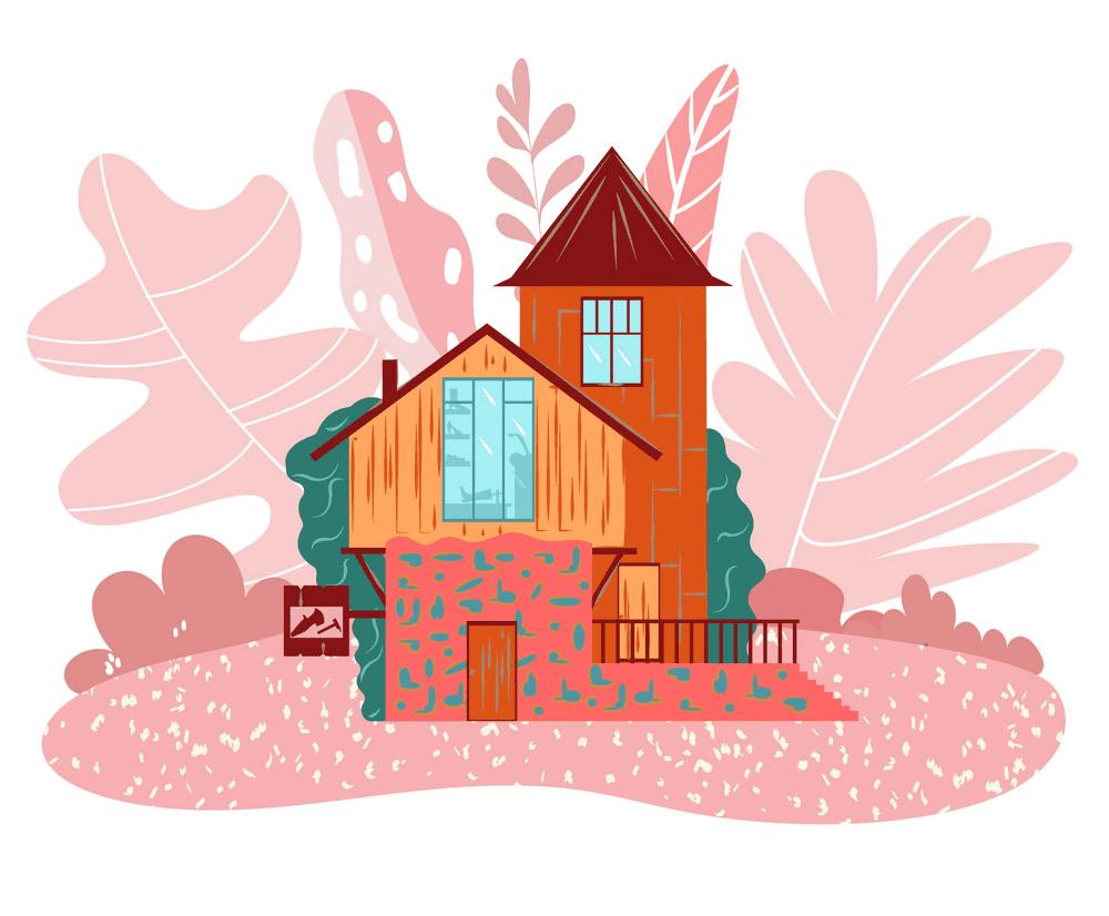 Fairy House clipart 11