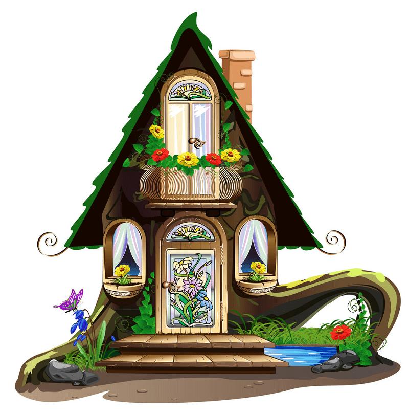 Fairy House clipart 12