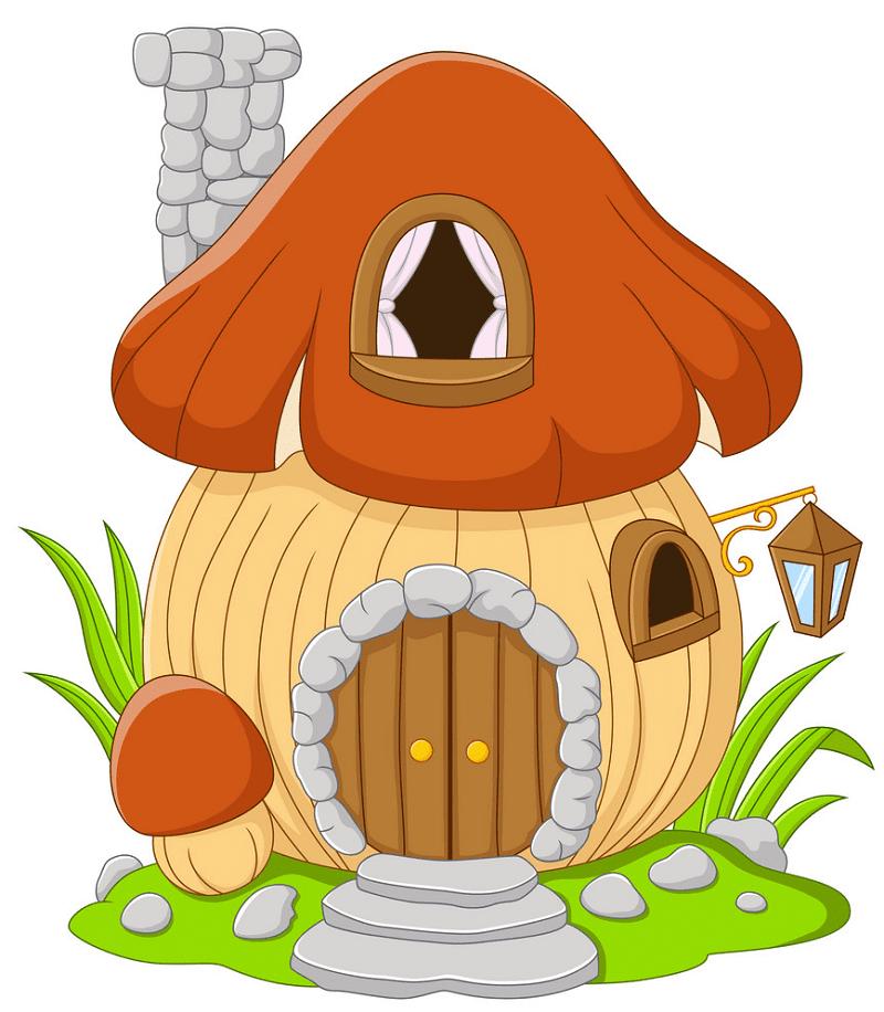 Fairy House clipart 13