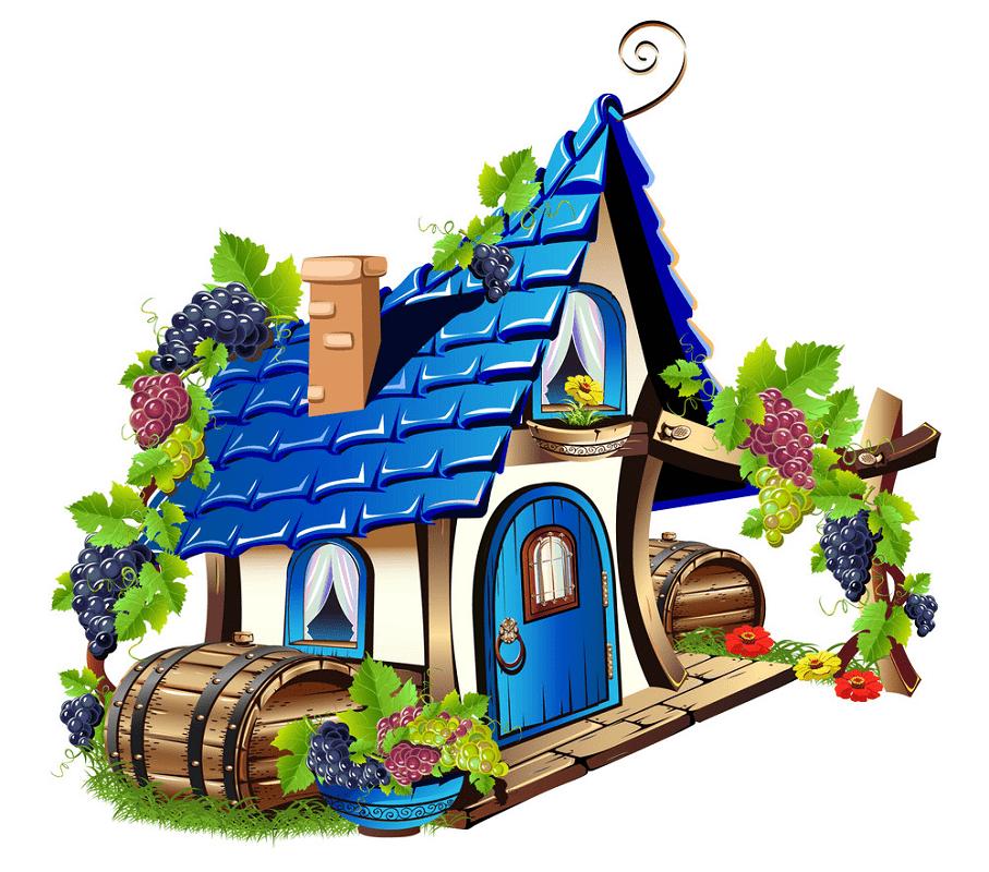 Fairy House clipart 2