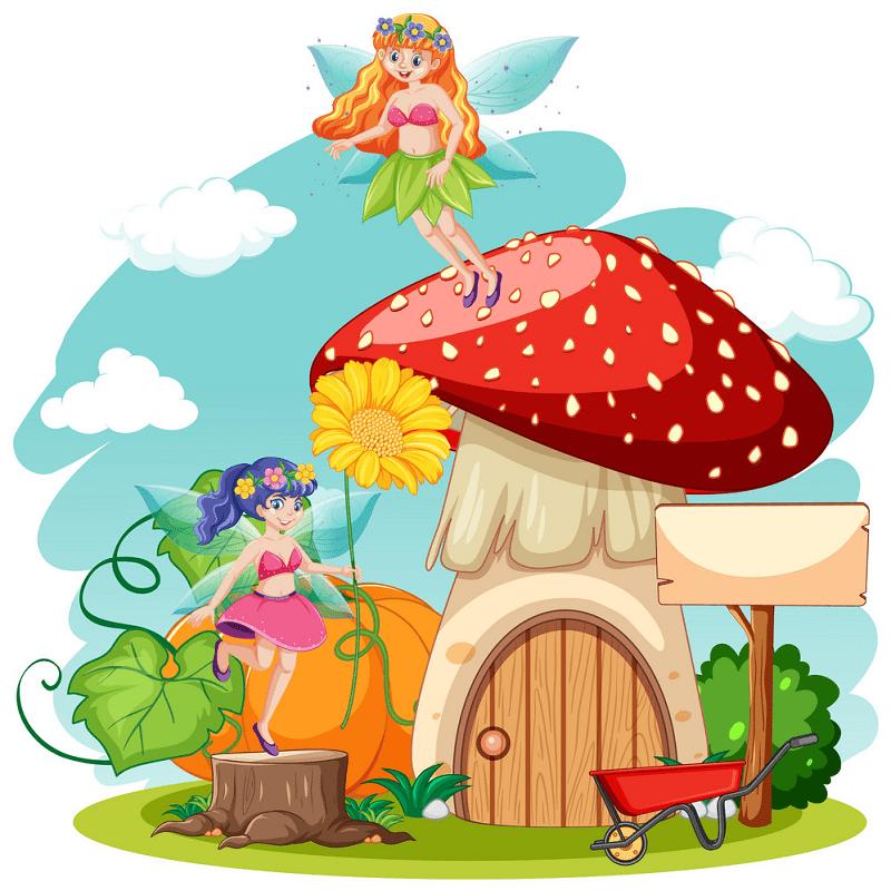 Fairy House clipart 5