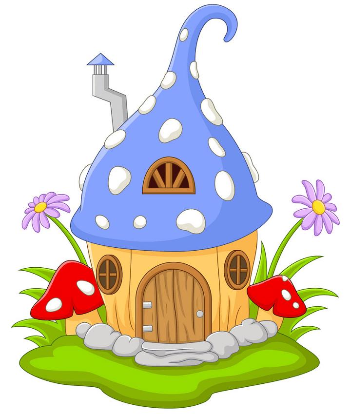 Fairy House clipart 6