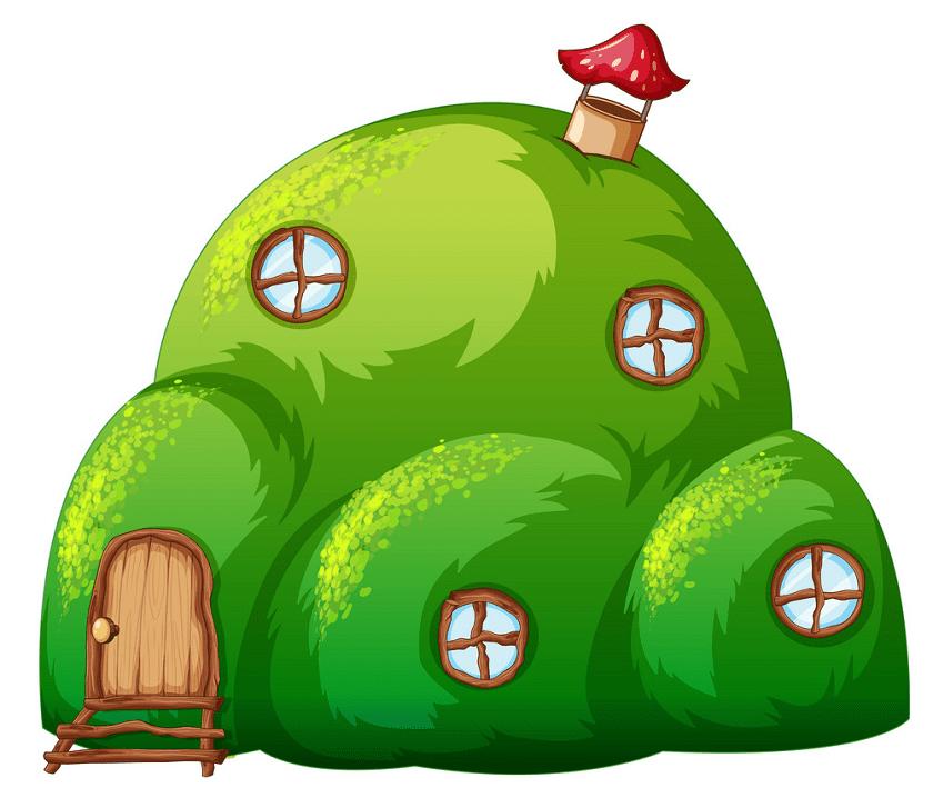 Fairy House clipart 9