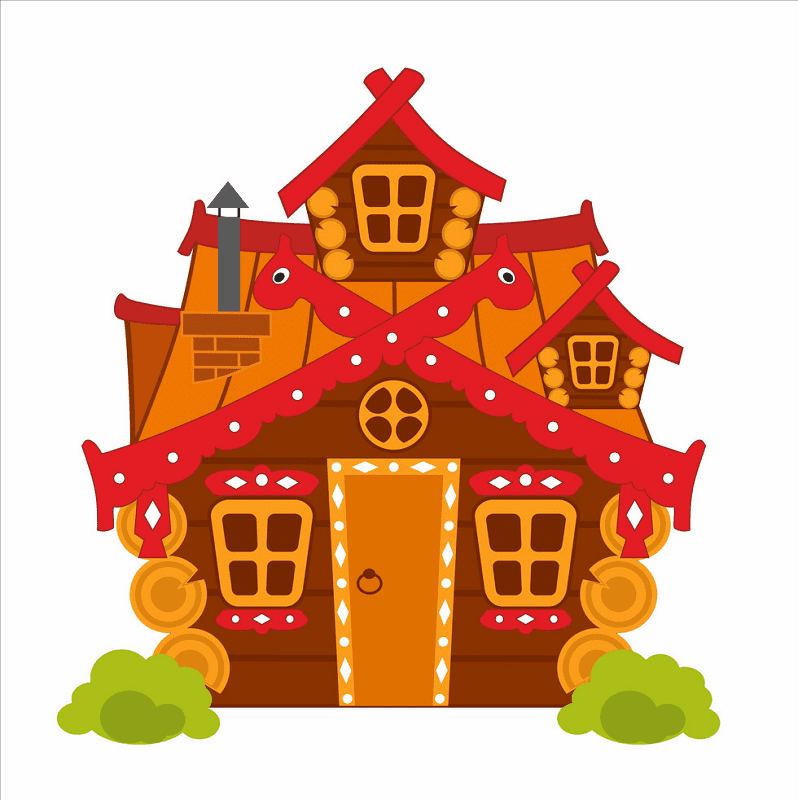 Fairy House clipart for free