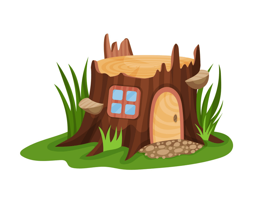 Fairy House clipart free image