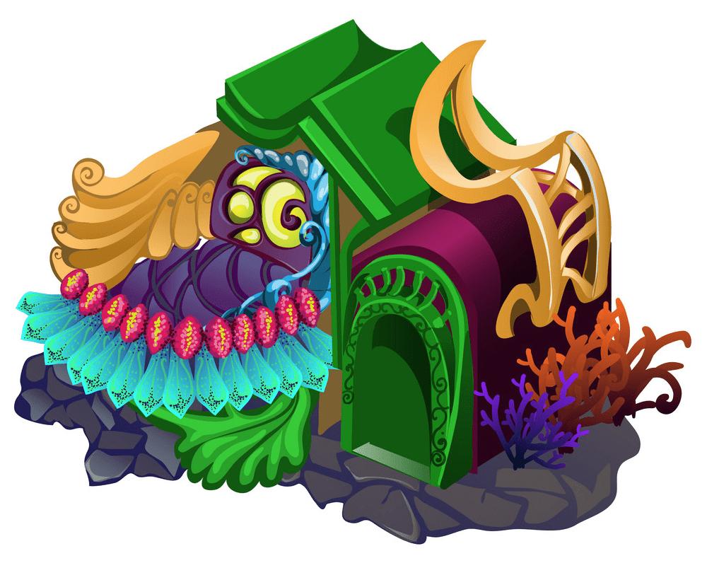 Fairy House clipart free