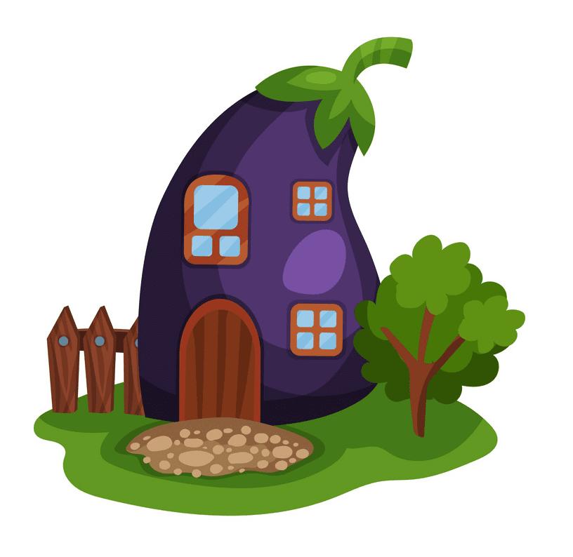 Fairy House clipart image