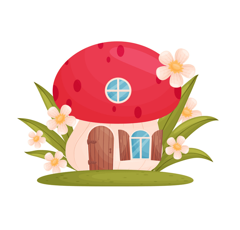 Fairy House clipart png free