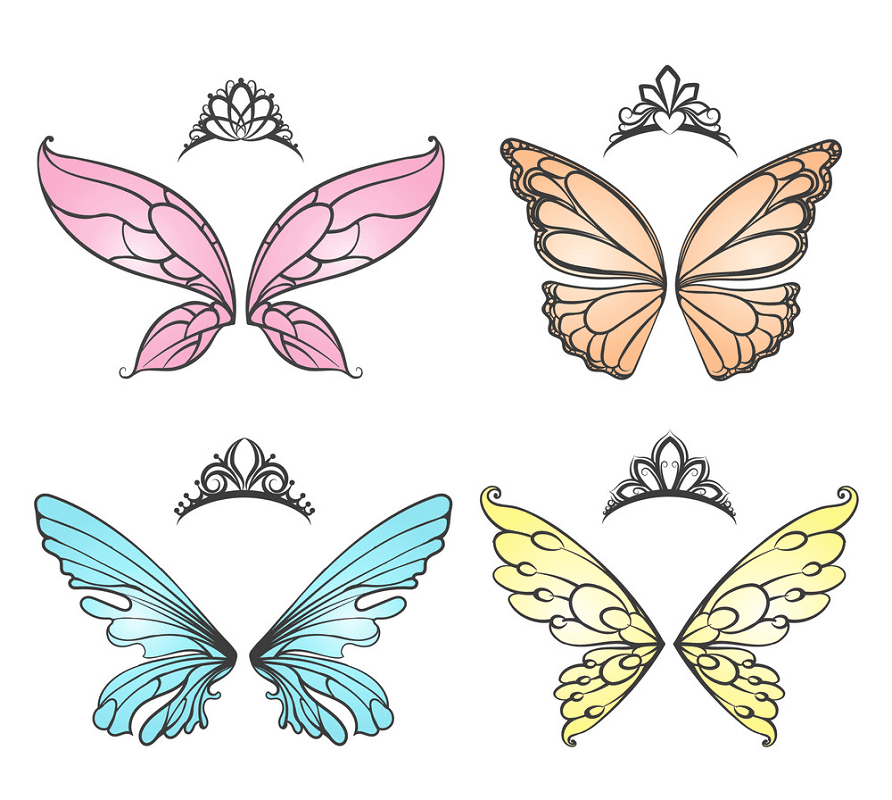 Fairy Wings clipart free