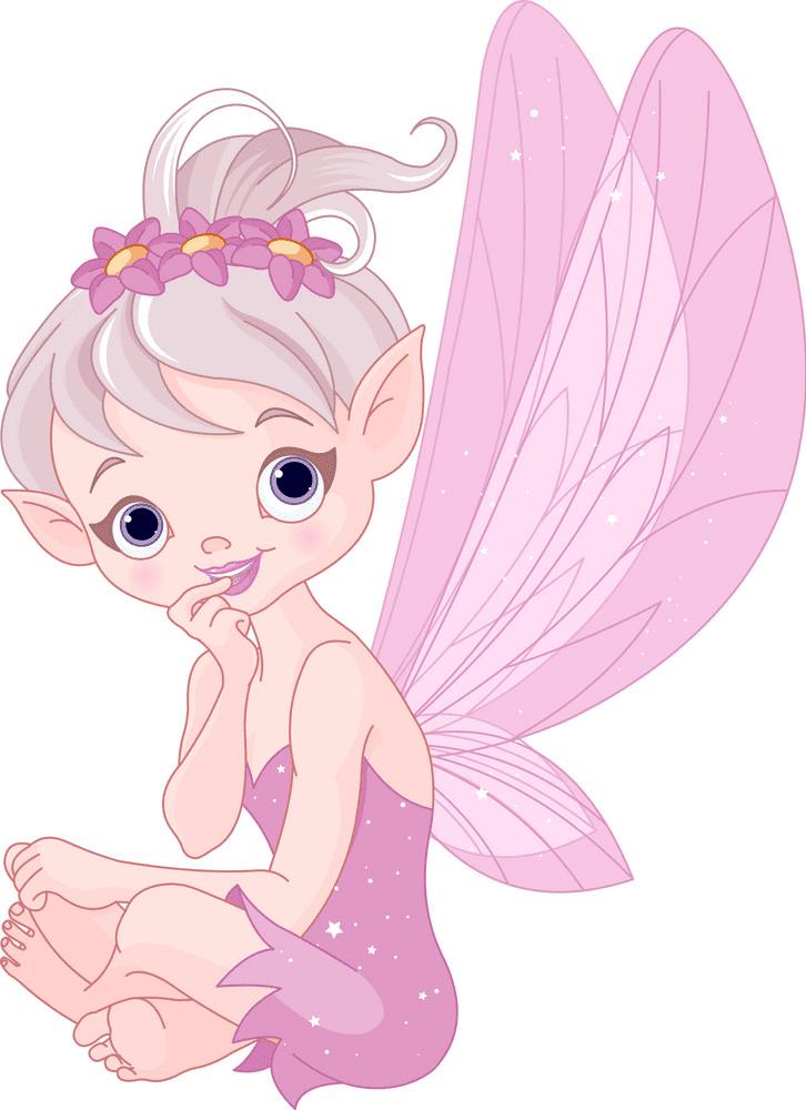 Fairy clipart 5