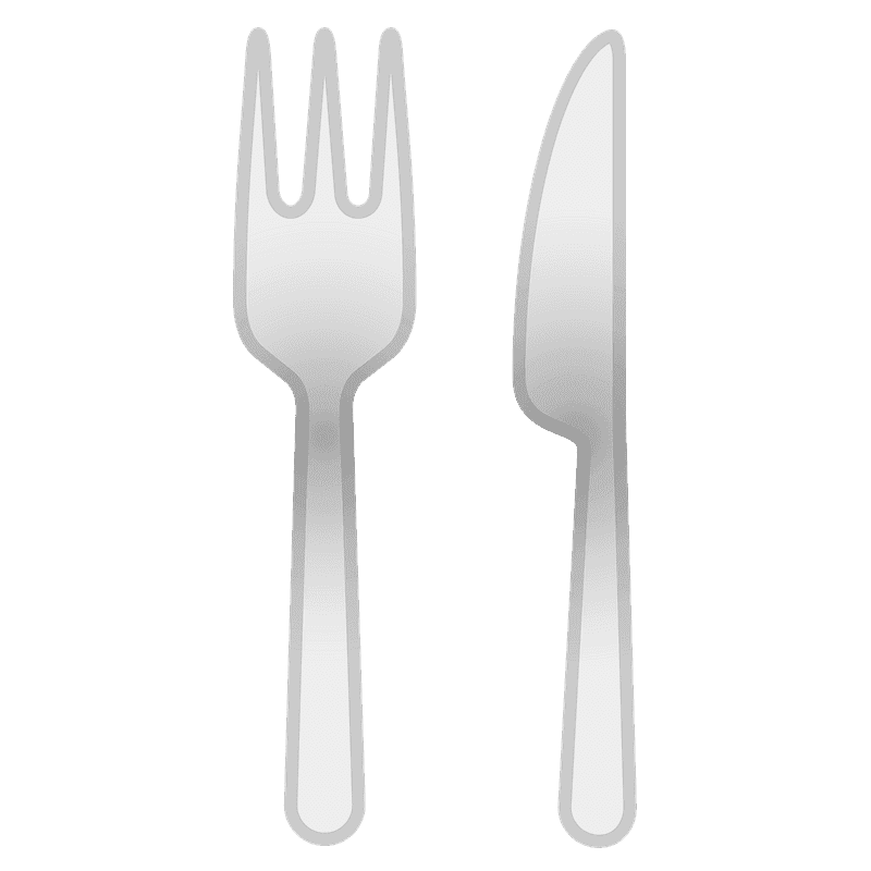 Fork and Knife clipart free