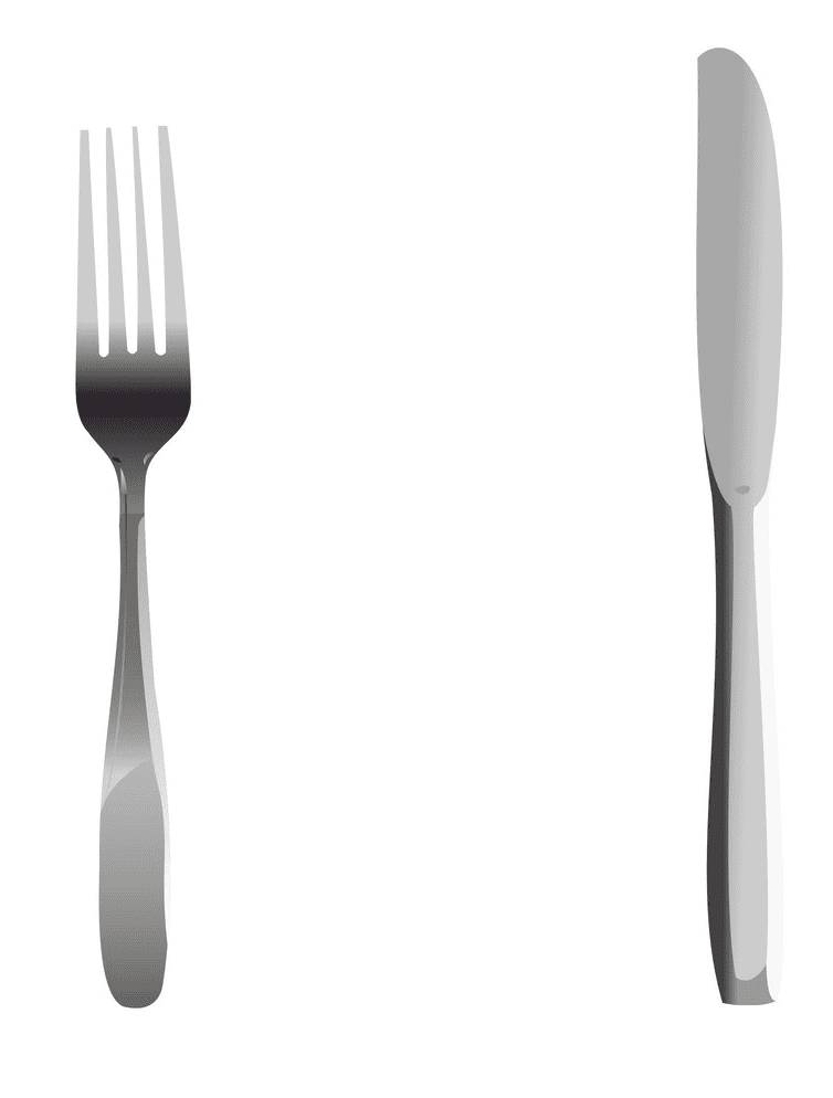 Fork and Knife clipart png image