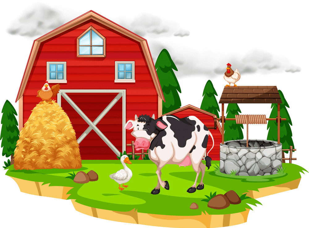 Free Barn Animals clipart image