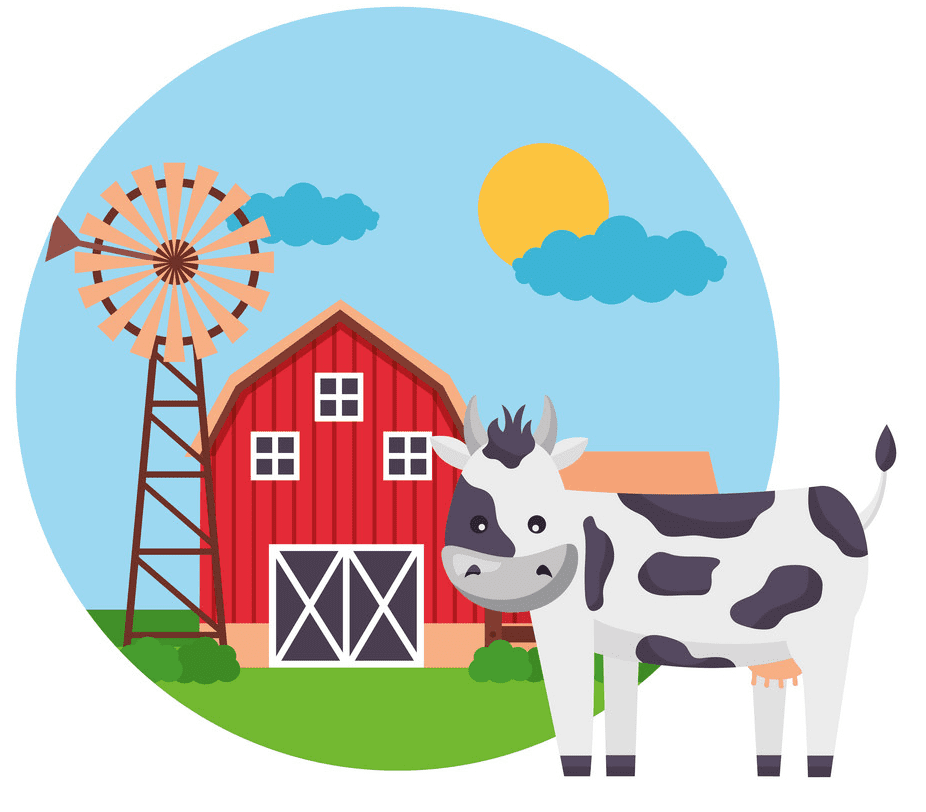 Free Barn Animals clipart images