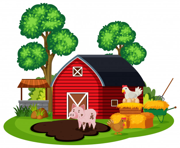 Free Barn Animals clipart png image