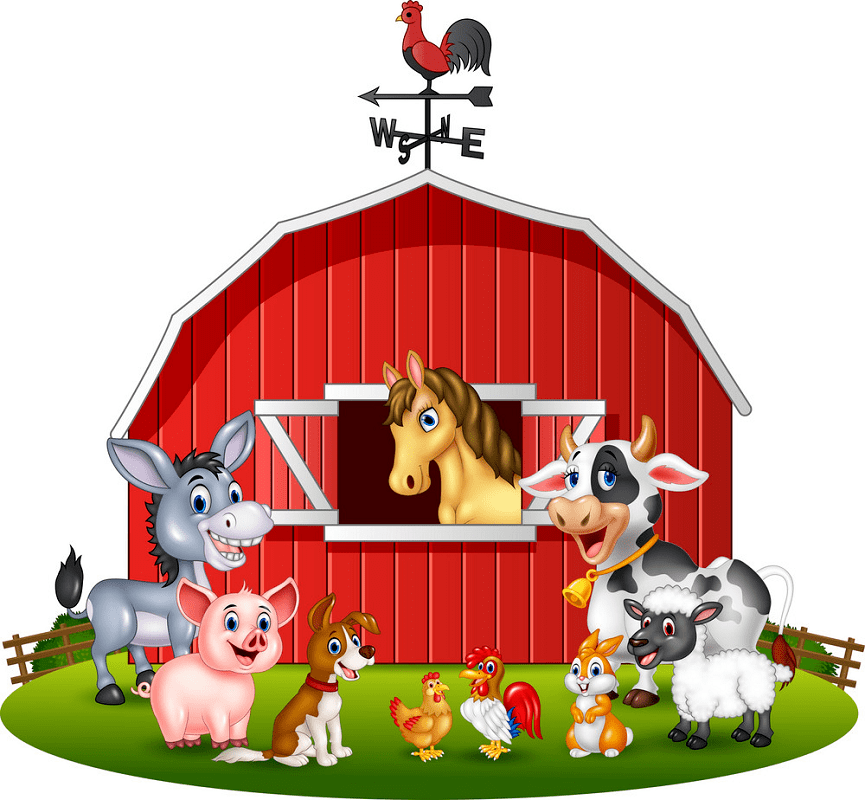 Free Barn Animals clipart png images