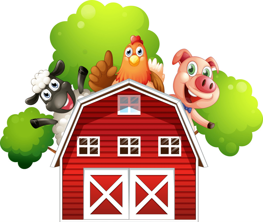 Free Barn Animals clipart png