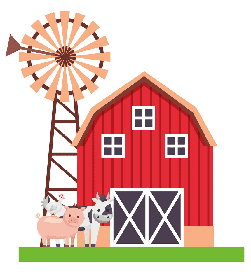 Free Barn Animals clipart