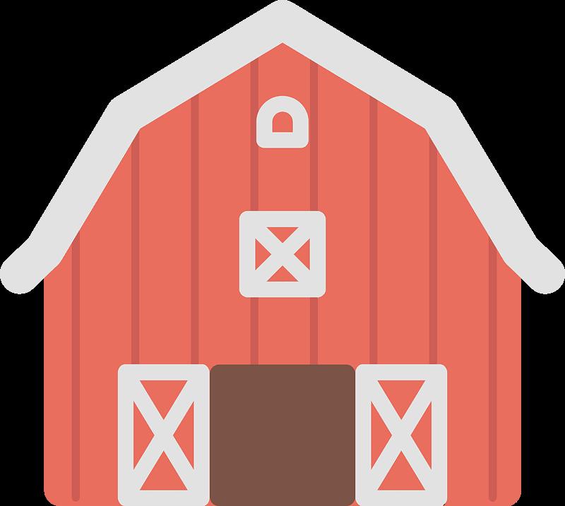 Free Barn clipart transparent