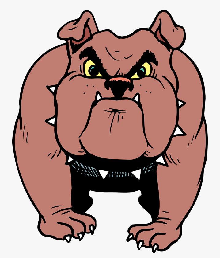 Free Bulldog clipart 2