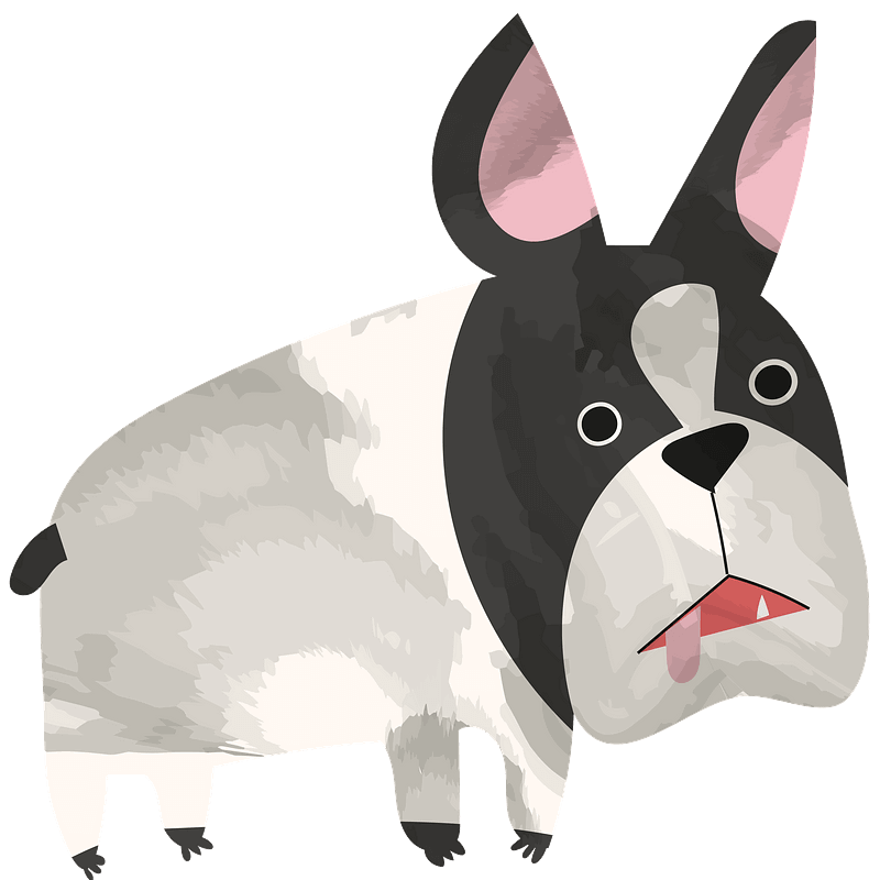 Free Bulldog clipart transparent