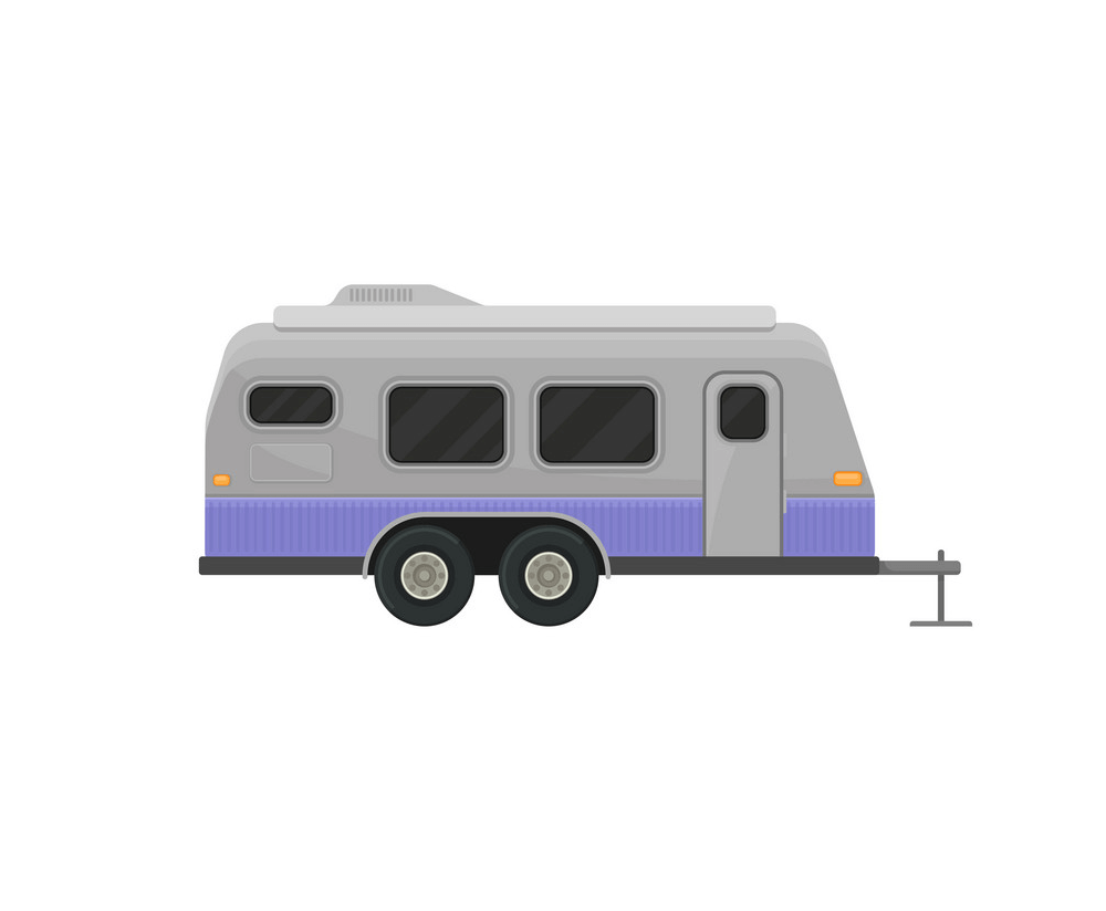 Free Camper Trailer clipart png