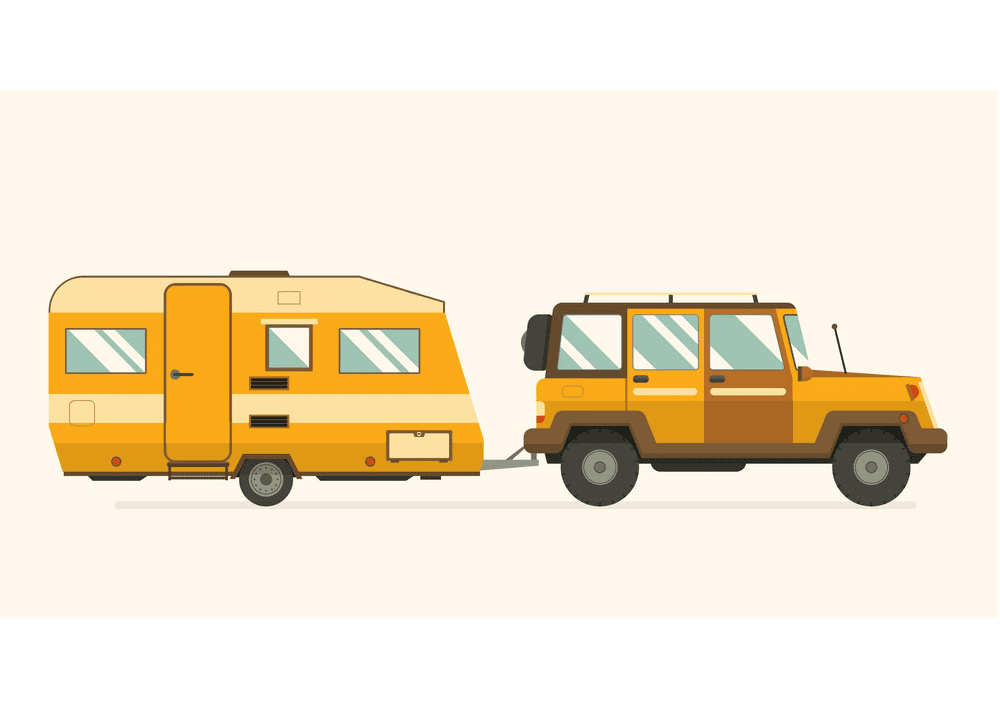 Free Camper clipart images