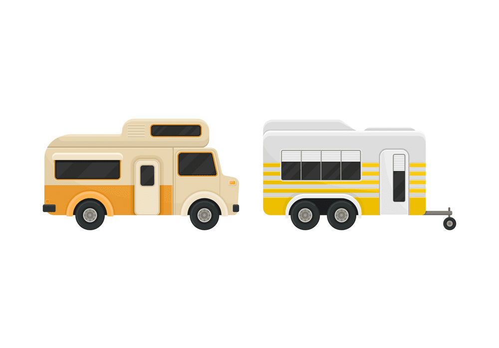 Free Camper clipart png image