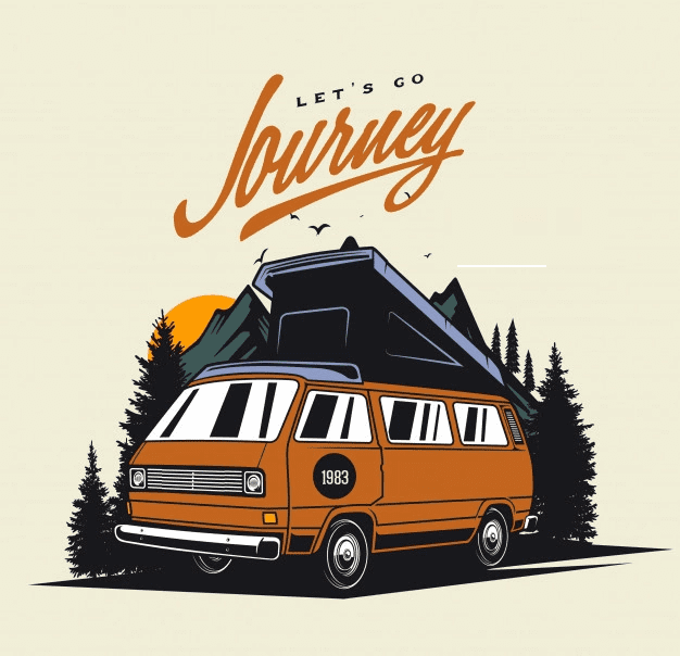 Free Camper clipart png