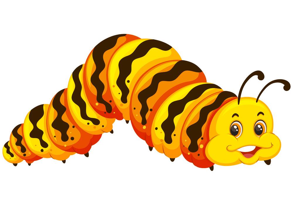 Free Caterpillar clipart image