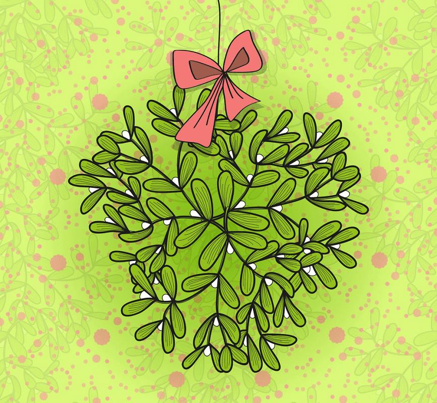 Free Clipart Mistletoe