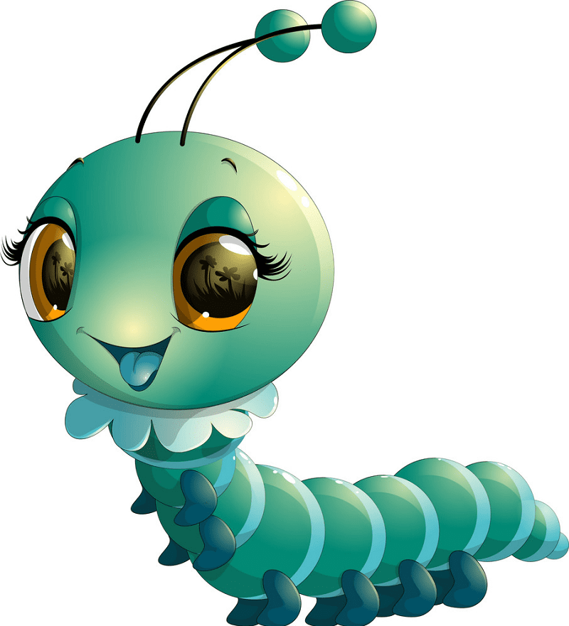 Free Cute Caterpillar clipart images
