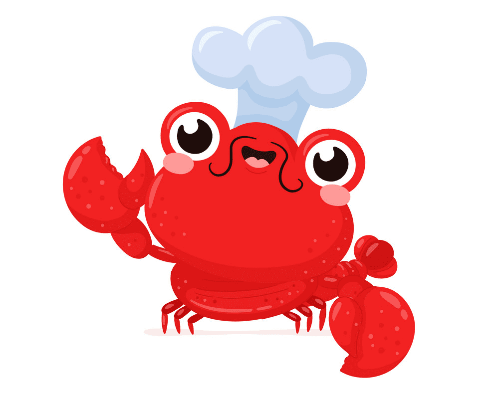 Free Cute Lobster clipart picture