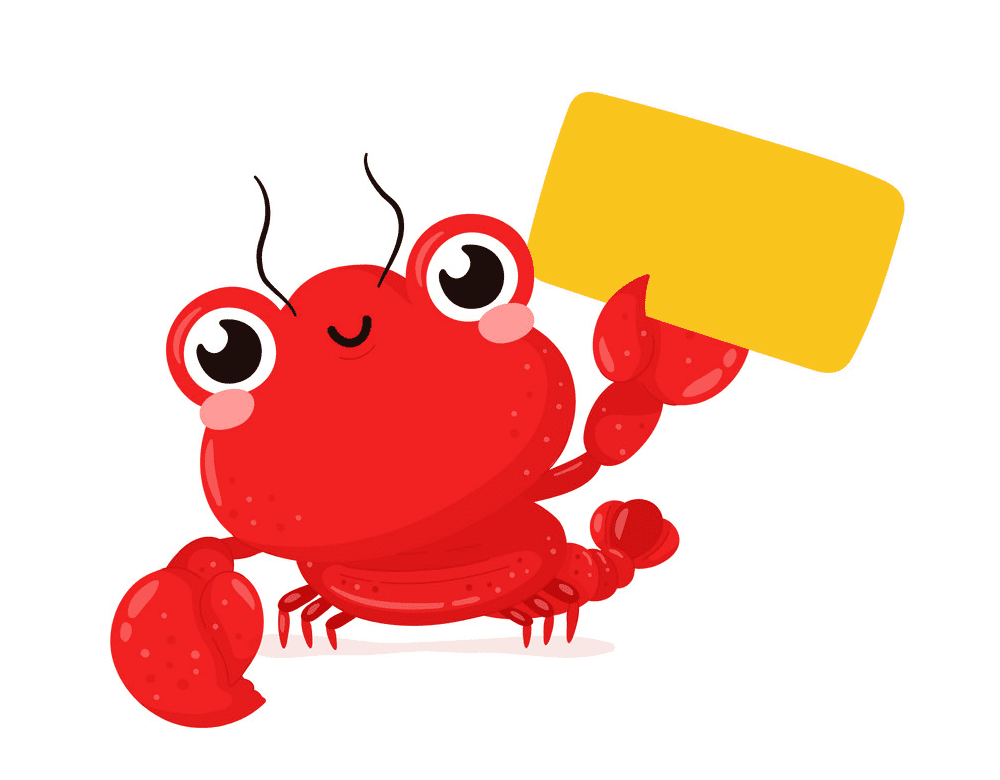 Free Cute Lobster clipart png image