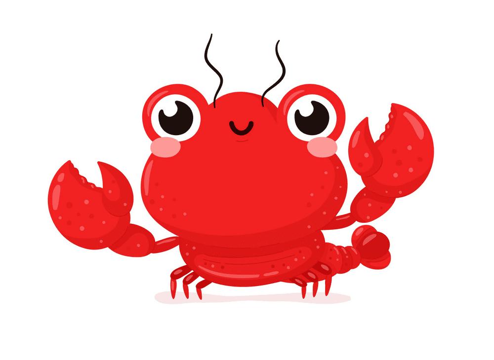 Free Cute Lobster clipart