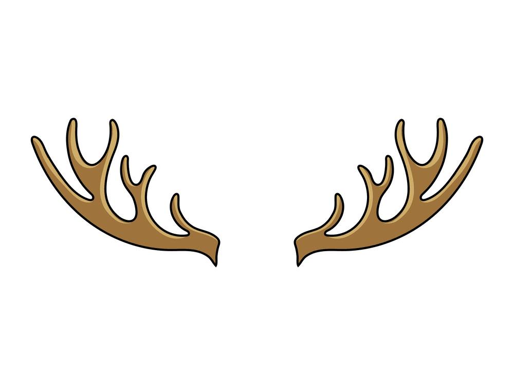 Free Deer Antlers clipart png
