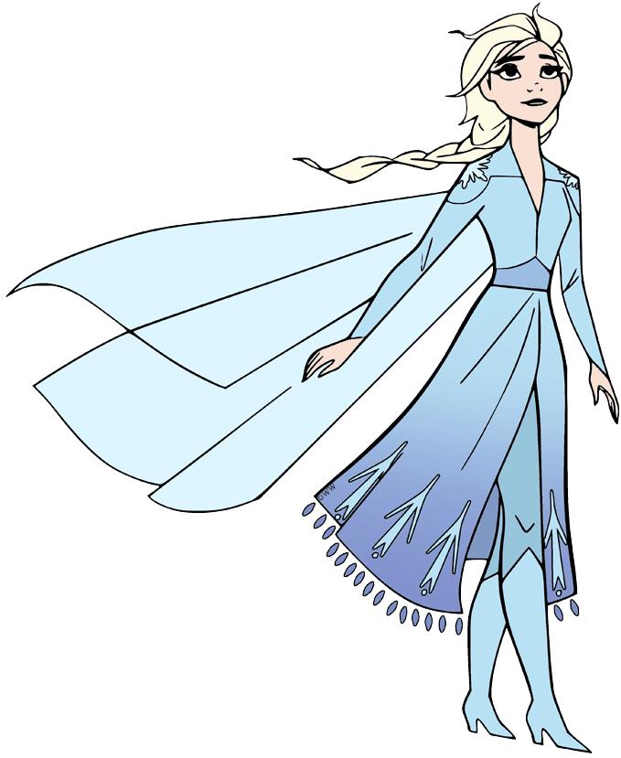 Free Elsa clipart images