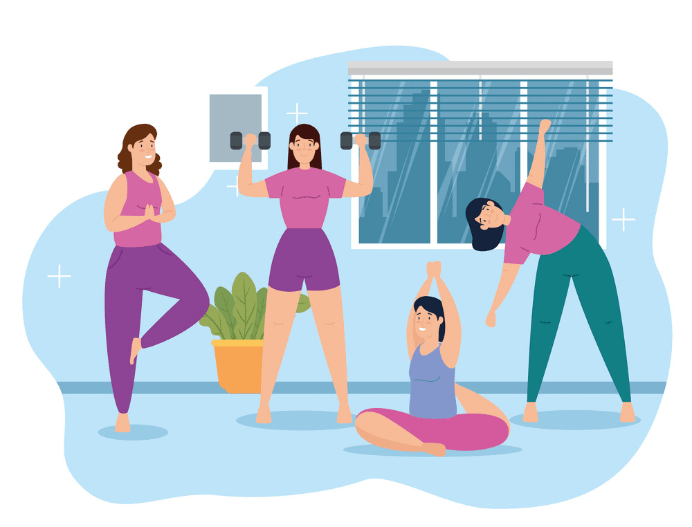 Free Exercise clipart 9