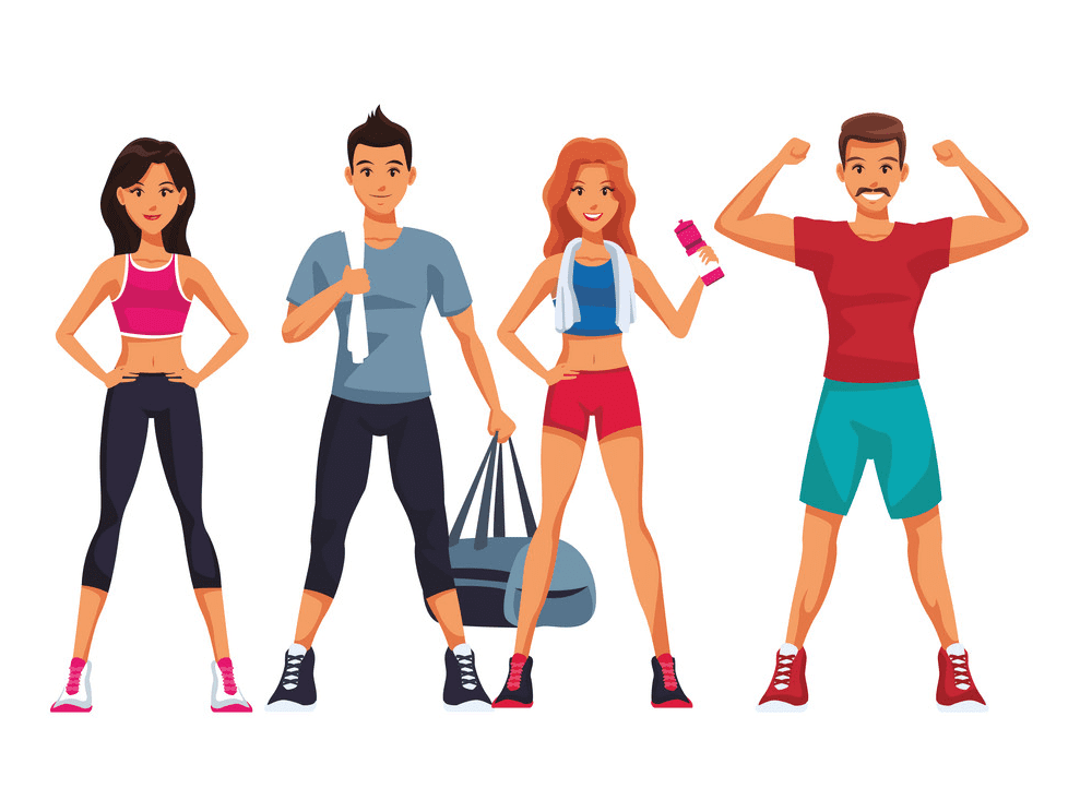 Free Exercise clipart picture