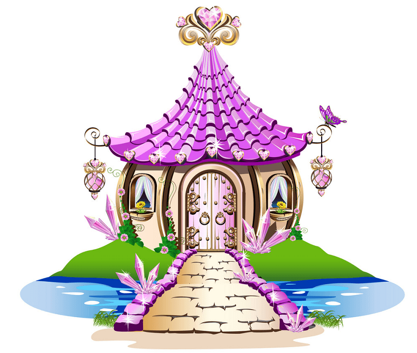 Free Fairy House clipart png