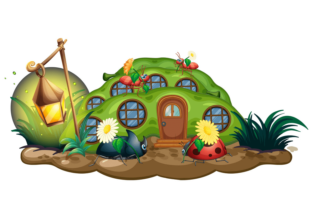 Free Fairy House clipart to download