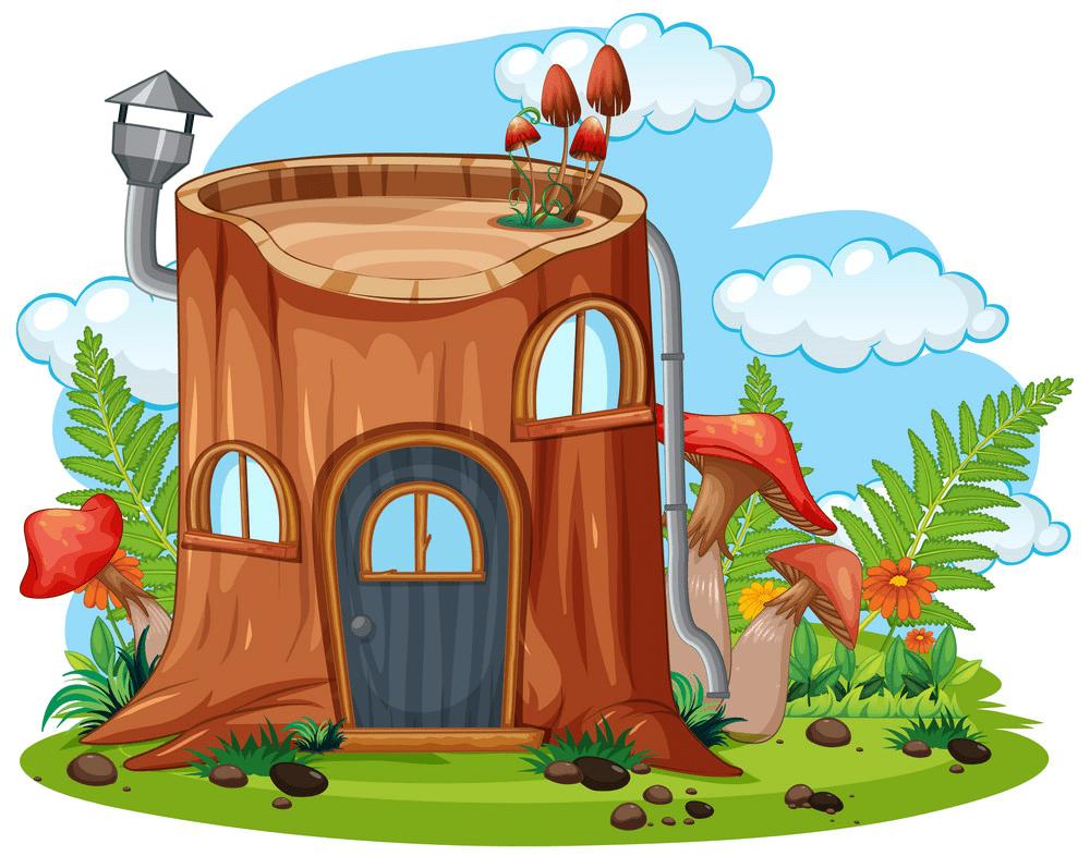 Free Fairy House clipart