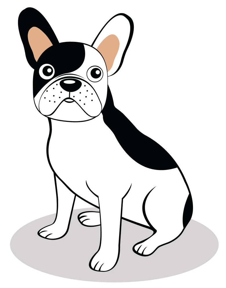 Free French Bulldog clipart images