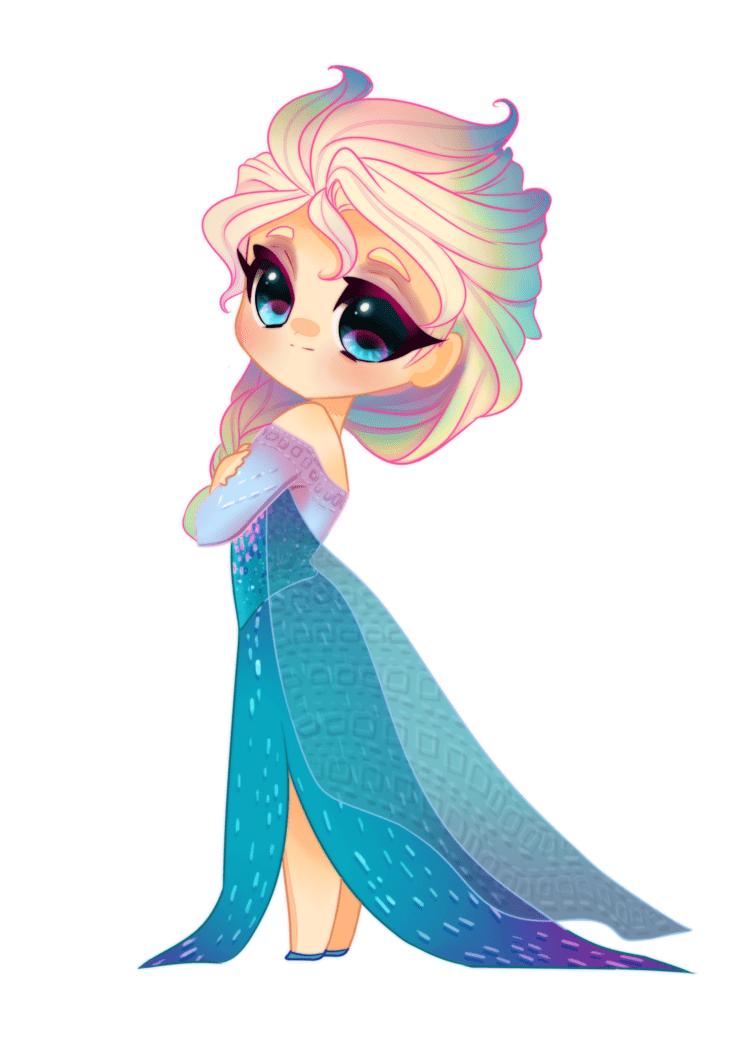 Free Frozen Elsa clipart image