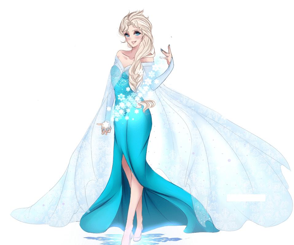 Free Frozen Elsa clipart