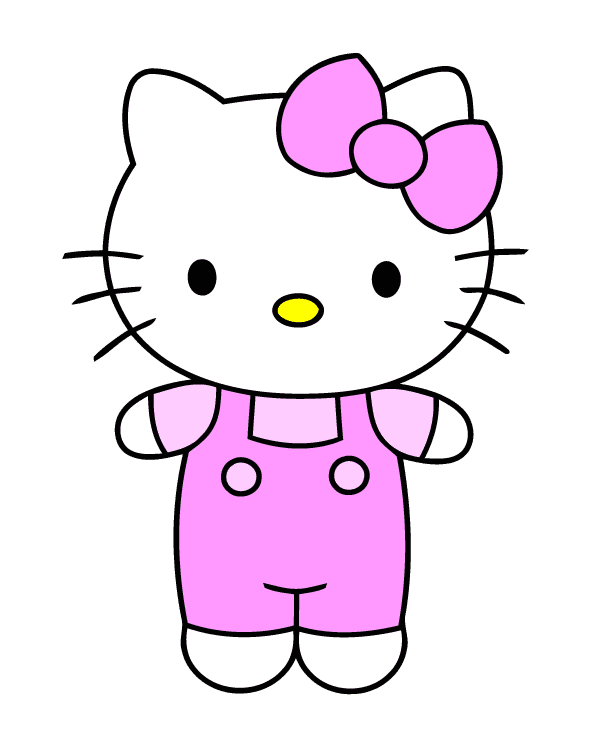 Free Hello Kitty clipart images