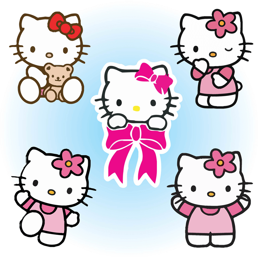 Free Hello Kitty clipart
